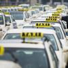 В Рязани забастовали таксисты
