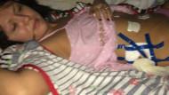 Кемеровские хирурги бинтовали свежие швы изолентой