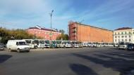 Иркутские водители бастуют и митингуют под носом у мэрии