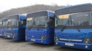 Водители автобусов Владивостока вышли на забастовку протеста