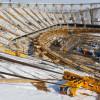 Рабочие «Волгоград Арены» приостановили работу до полной выплаты зарплат