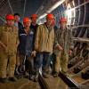 Проходчики петербургского «Метростроя» приостановили работы. На помощь к ним пришли коммунисты из Рабочей партии России (видеорепортаж)