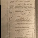 Приговор военного суда от 29 мая 1952 года