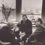 У Дюкло с Жуковым в 1974 фото Воронина Юрия